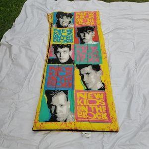 New Kids On The Block 1990 Sleeping Bag